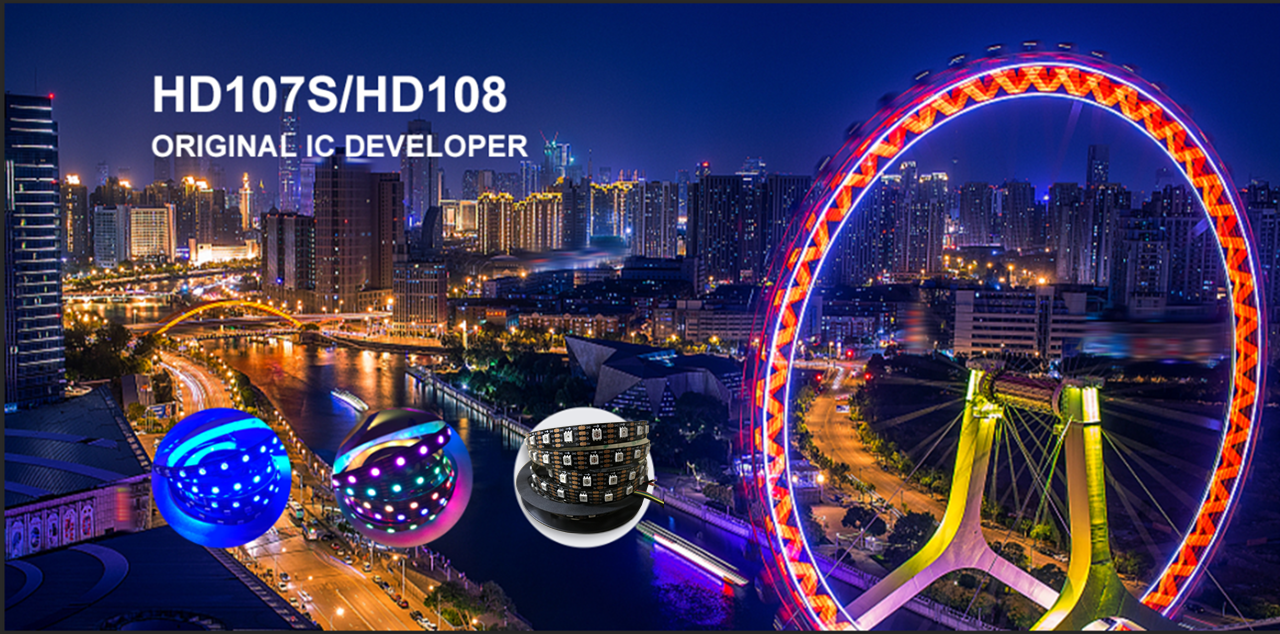 Original IC developer of NS108 16bit Individually Addressable LED