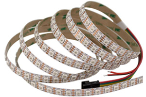Individually Addressable LED Lighting Strip WS2813 DC5V RGB Magic color