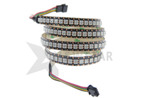 144pcs WS2813 Pixel LED Strip Lights RGB Full Color White 12MM PCB